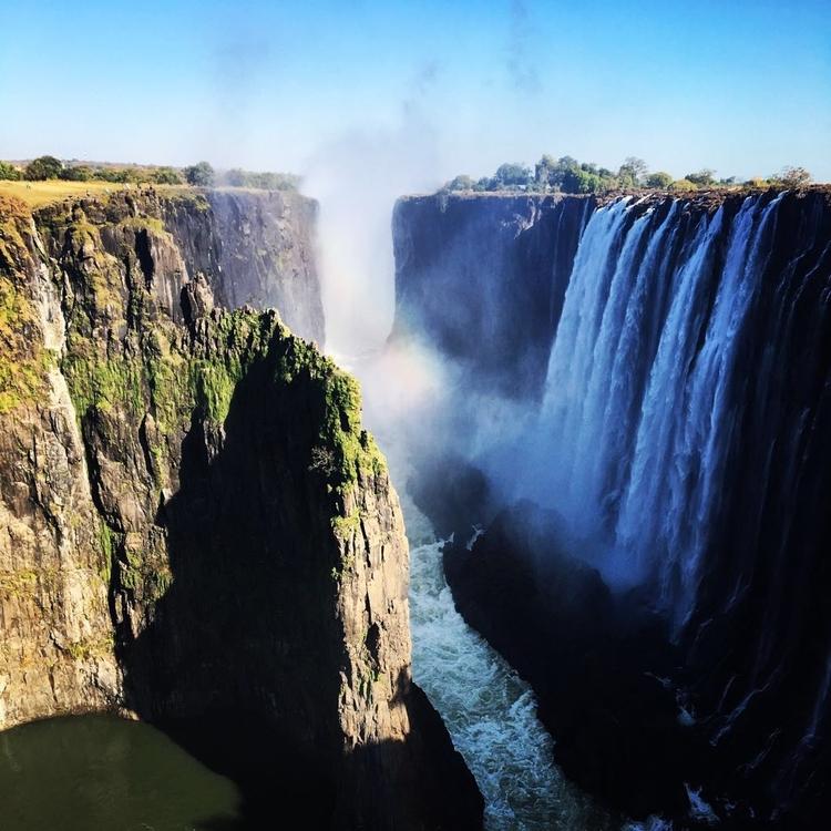 Victoria Falls in Livingstone, Zambia